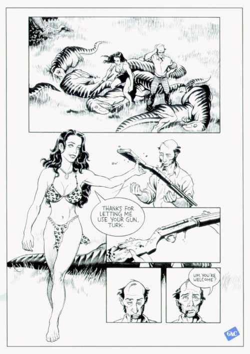 Frank Cho, Illustrator (71 фото)