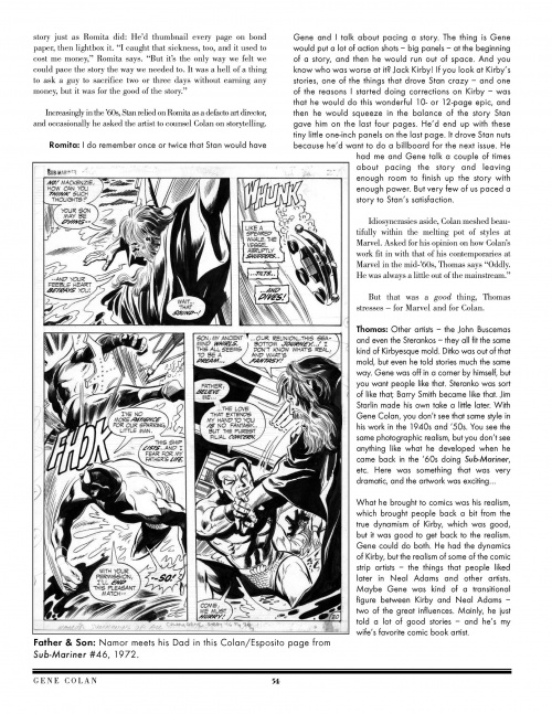 Secrets in the Shadows: The Art & Life of Gene Colan (196 фото)