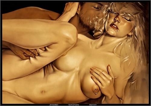 порно рисунки эротика