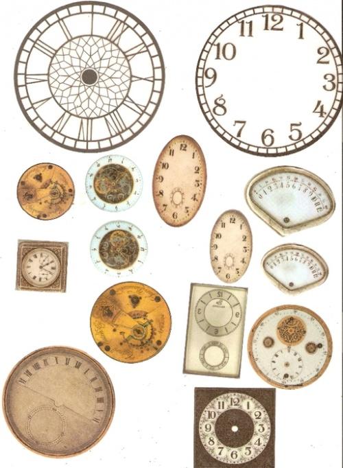 Большая коллекция циферблатов (193 фото)