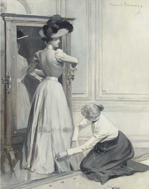 Художник Francois Flameng (French, 1856-1923)