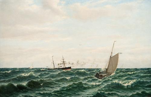 Художник Oscar Conrad Kleineh (1846-1919) (27 работ)