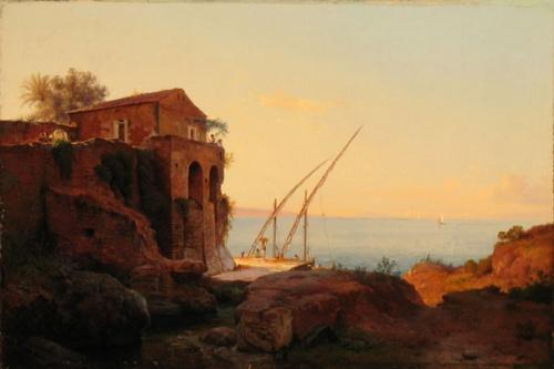Художник Ludwig Heinrich Theodor Gurlitt (Louis Gurlitt) (1812-1897)