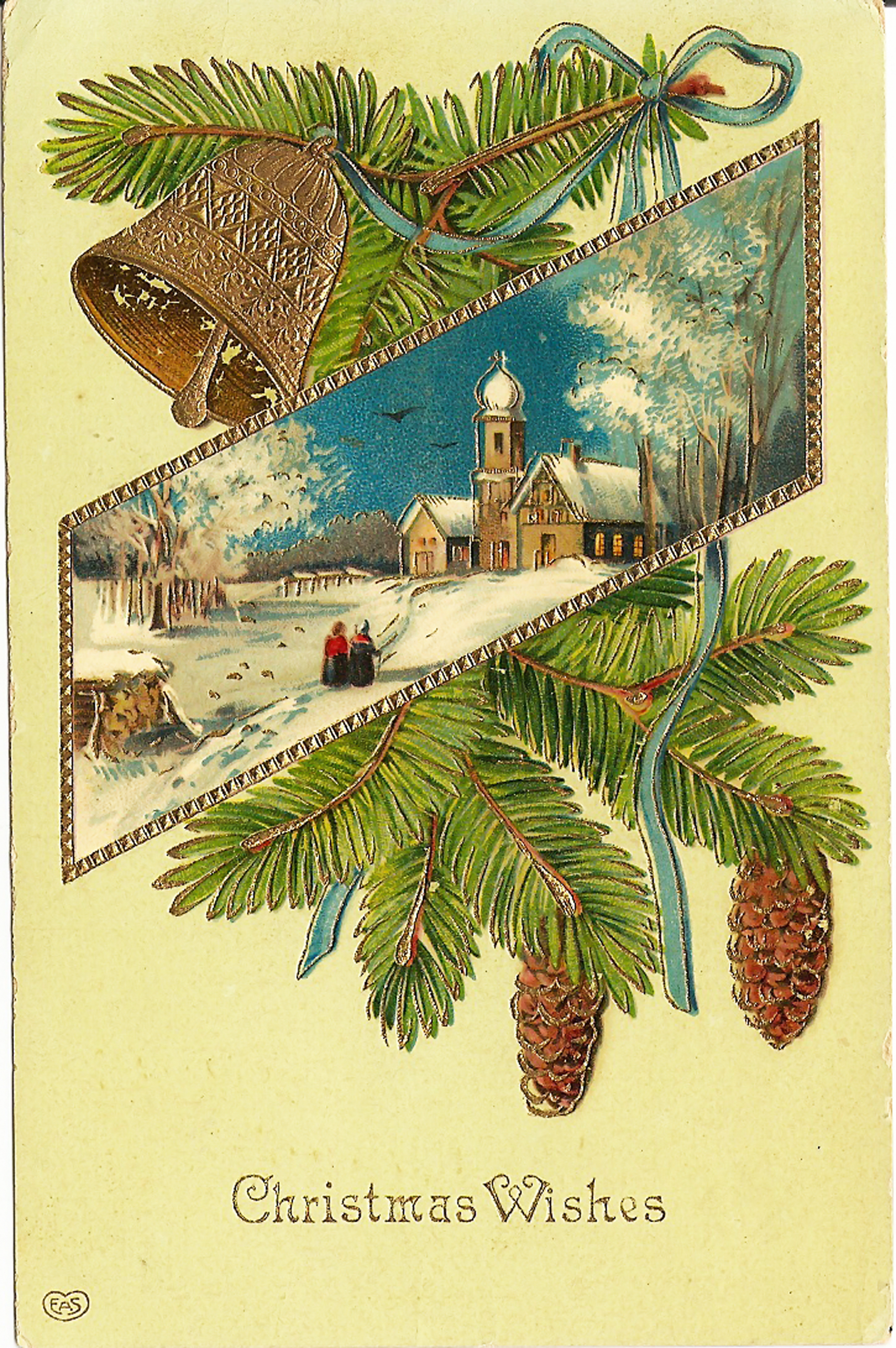 старинные открытки к новому году фото мнению