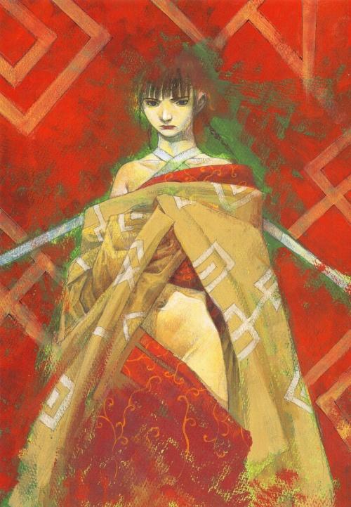 Два артбука Hiroaki Samura (Часть 1) (249 фото)