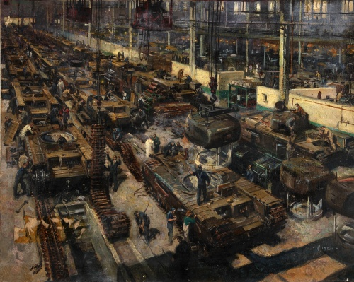 Artworks by Terence Cuneo (8 работ)