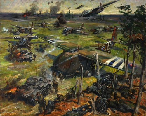 Artworks by Terence Cuneo (8 фото)