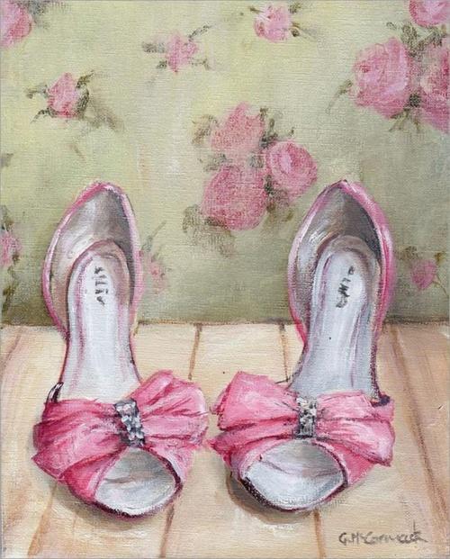 Розовый винтаж от Gail Mccormack (40 работ)