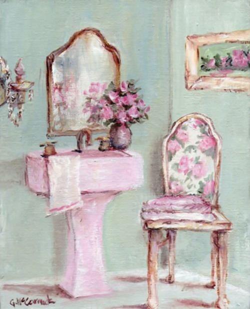 Розовый винтаж от Gail Mccormack (40 фото)
