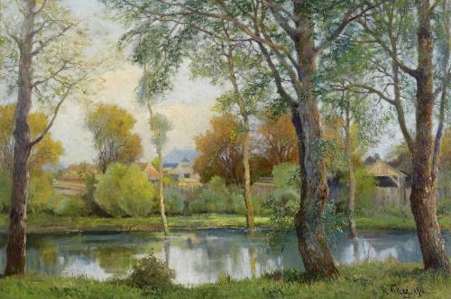 Художник Karl Vikas (Austrian, 1875-1934) (19 фото)