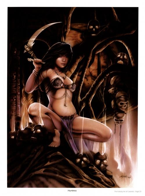 The Fantasy Art of Calandra (53 работ)