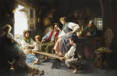 Итальянский художник Giovanni Battista Torriglia (1858-1937) (24 работ)