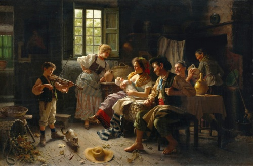 Итальянский художник Giovanni Battista Torriglia (1858-1937) (24 фото)