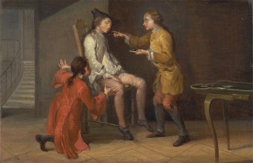 Художник Philippe Mercier (French, 1689-1760) (80 фото)
