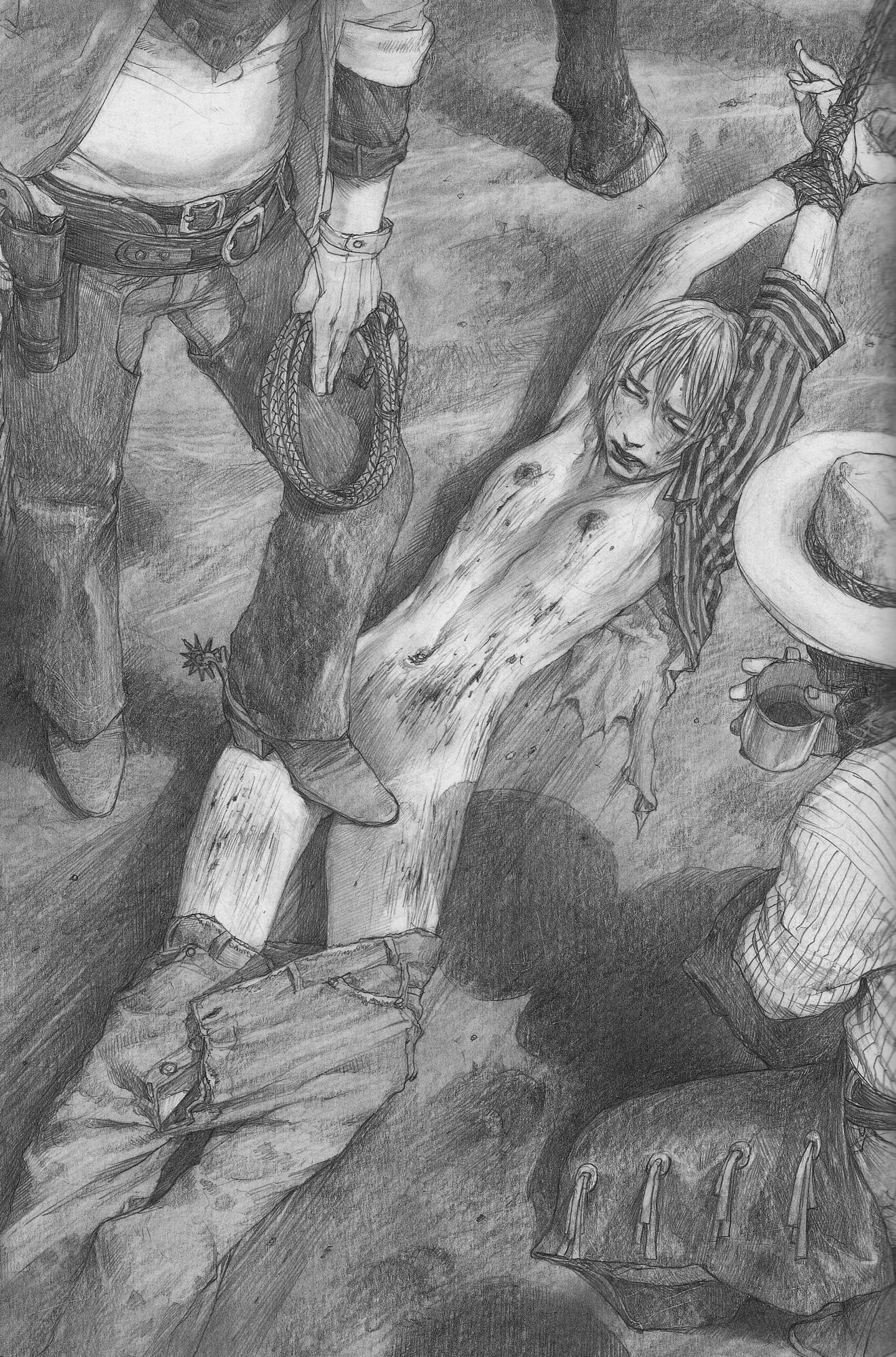 Рисунки пытки девушек 18 фотография