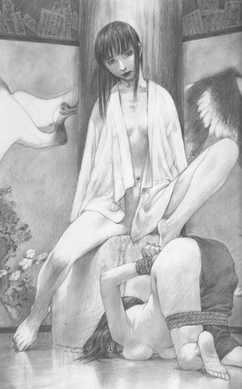 Два артбука Hiroaki Samura (Часть 2) (98 фото)