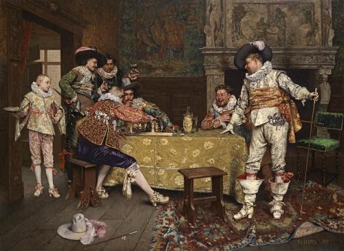 Французский художник Adolphe Alexandre Lesrel (1839-1921) (56 работ)