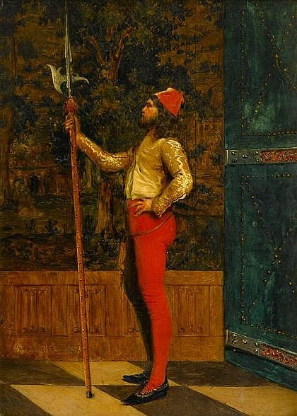Французский художник Adolphe Alexandre Lesrel (1839-1921) (56 фото)
