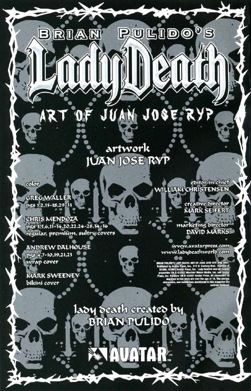 Brian Pulido's Lady Death (49 фото)