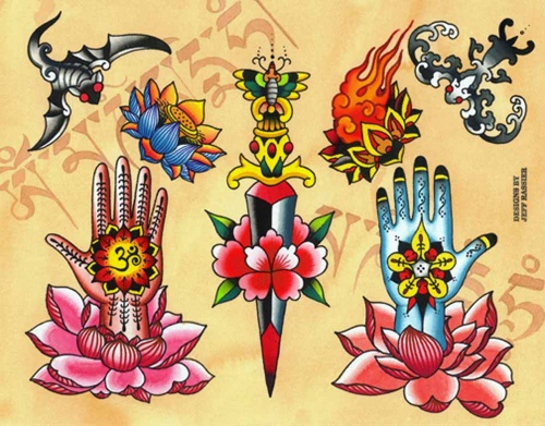 Large Collection of Tattoo (540 фото)