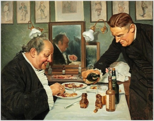 """""""Мой папа актёр"""". Эмиль Поулсен (Emil Poulsen, Danish, 1873 – 1958) (19 фото)"""