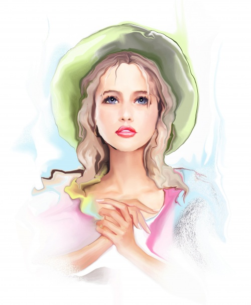 Shutterstock - Illustrated Fashion Woman 2 (26 работ)