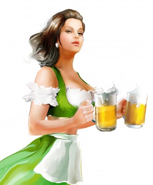 Shutterstock - Illustrated Fashion Woman 2 (26 фото)