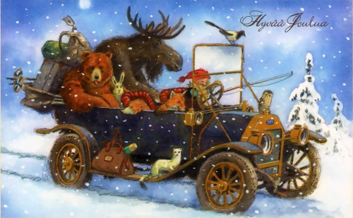 Ниссе (nisse) в иллюстрациях Кьелла Эйнара Мидхью (Kjell Einar Midthun) (27 фото)