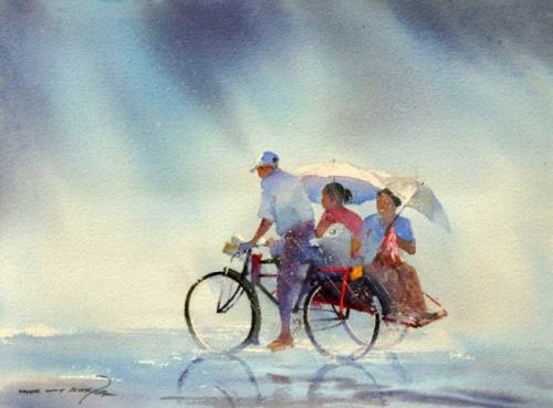 Художник Myoe Win Aung (45 работ)