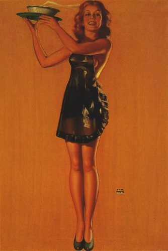 Пинап от художника Earl Moran (14 работ)