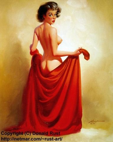 Пинап от художника Donald Rust (117 работ)