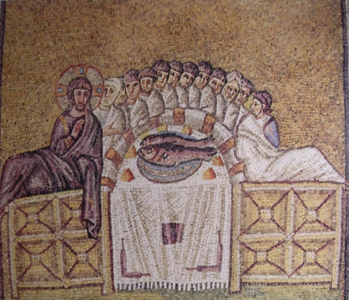 Византия (15 Часть). Мозаики церкви Сан Витале, VI в. - Равенна, Италия (56 открыток)