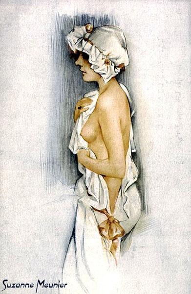 Пинап от художника Suzanne Meunier (41 работ)