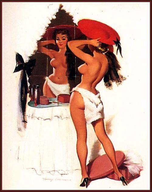 Пинап от художника Harry Ekman (19 работ)