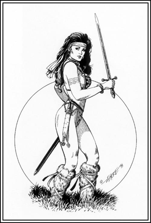 Фантастический арт от Larry Elmore (164 работ)