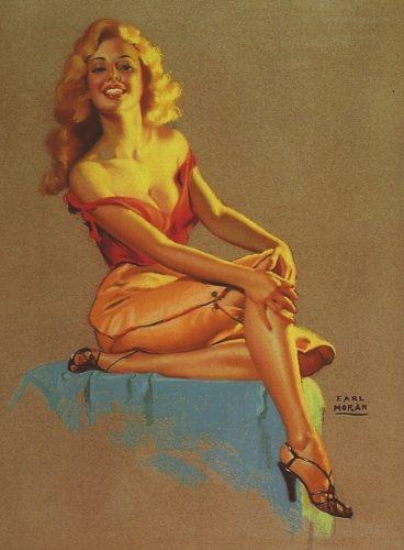 Девушки Earl Moran (28 работ)