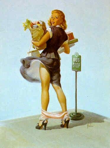 Пинап от художника Art Frahm (20 работ)