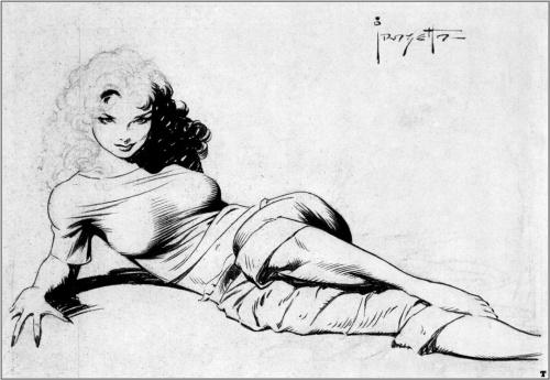 Фантастический арт от Frank Frazetta (366 работ)