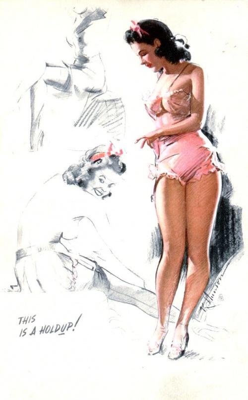 Пинап от художника K.O.Munson (18 работ)