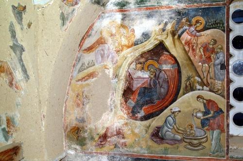 Сербия (8 Часть). Фрески церкви Успения Божией Матери монастыря Студеница, Сербия (152 работ)