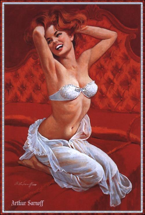Пинап от художника Arthur Sarnoff (10 работ)