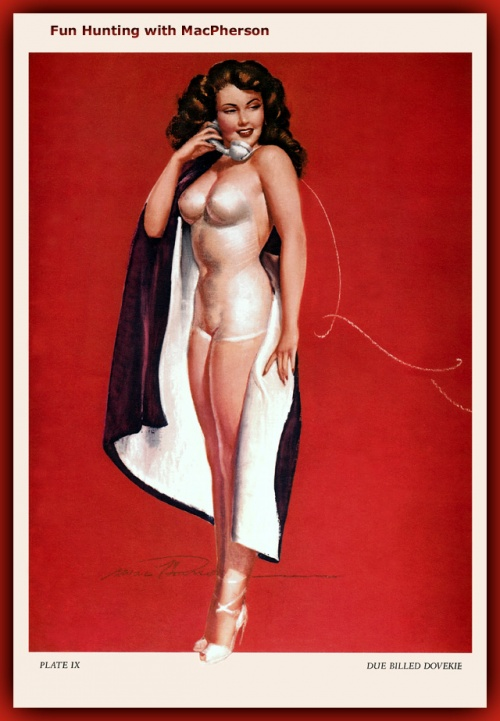 Пинап от художника Mac Pherson (68 работ)