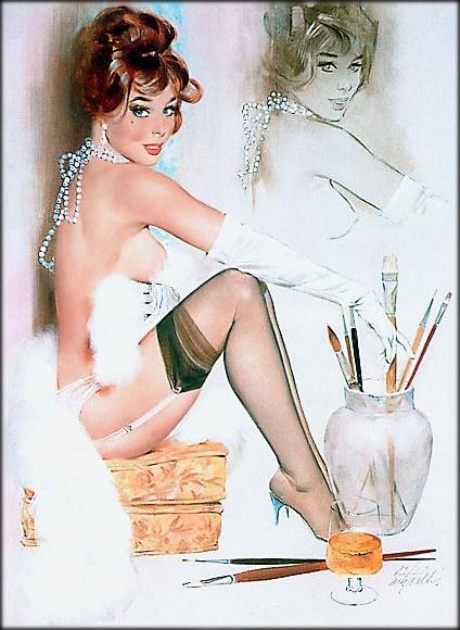 Пинап от художника Fritz Willis (49 работ)