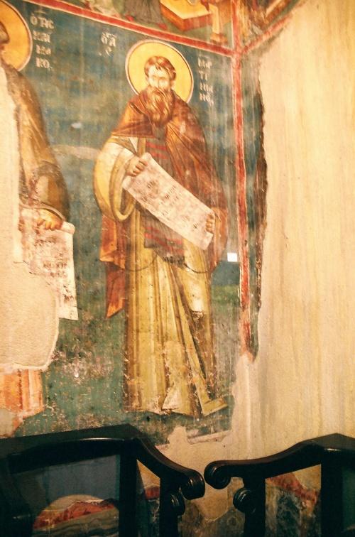 Сербия (5 Часть). Фрески церкви Перивлепты Охридской (Македония 1295 г.) (507 работ)