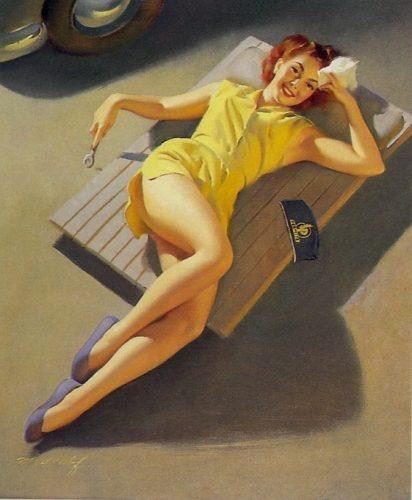 Пинап от художника Bill Medcalf (15 работ)