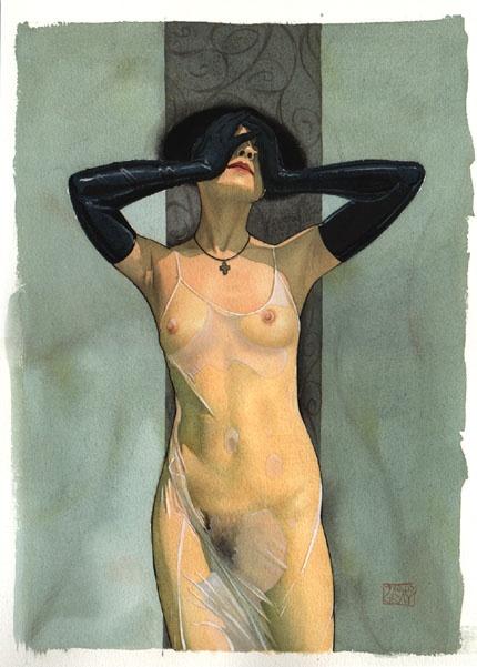 Пинап от художника Marcus Gray (58 работ)
