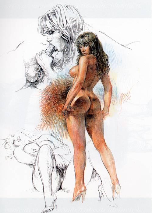 Пинап от художника Misk (254 работ)
