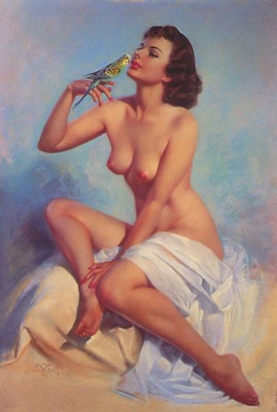 Девушки Zol Mozert (50 работ)