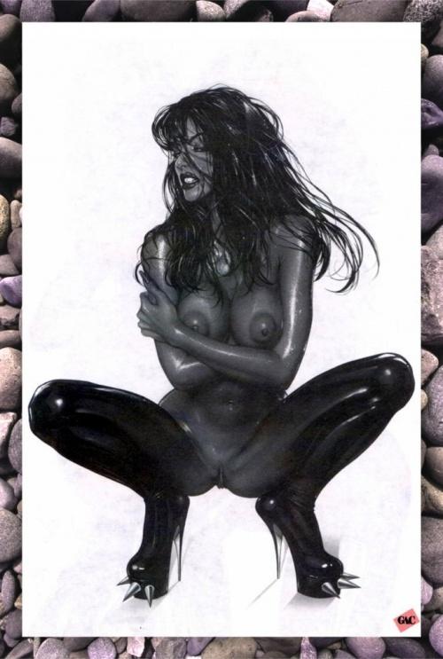 Пинап от художника Armando Huerta (24 работ)