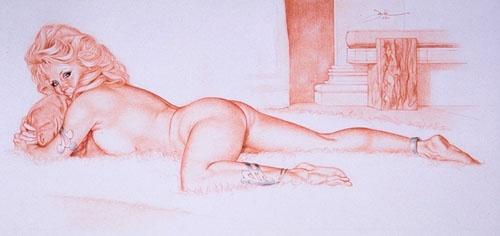 Пинап от художника Jack Henslee (6 работ)